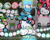 Hello Kitty Inspired Party Pack - Bright Fun Colors