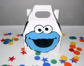 Cookie Monster Birthday Party Favor Boxes