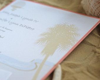 Palm Tree- Event Invitation