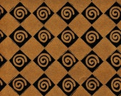 """Scrapbooking Collage Card Making Artist Papers Black and Copper 18x24 Sheets in """"Twist & Shout"""" Design"""
