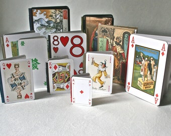 DIY Make It Yourself Playing Card Book Kit for Crafting Stocking Stuffer Adolescent Gift