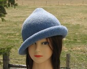 Fleur delacour Beauxbaton Academy Hat Harry Potter Heather Blue Knit Felt Special Order Only