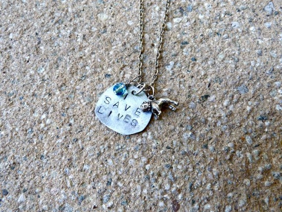 I Save Lives Necklace