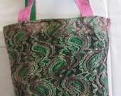 """miss machine couture: handmade handbag with high end materials, original, """"Anna"""" Handbag"""