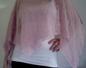 the girly girl shawl (pink pearl)