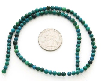 4mm 98Pcs/98Pieces One Full Strand Round Phoenix Stone Beads Finding/Length In 392mm  ja466