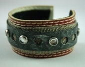 Recycled Jewelry - Recycled Bracelet - Belt Bracelet