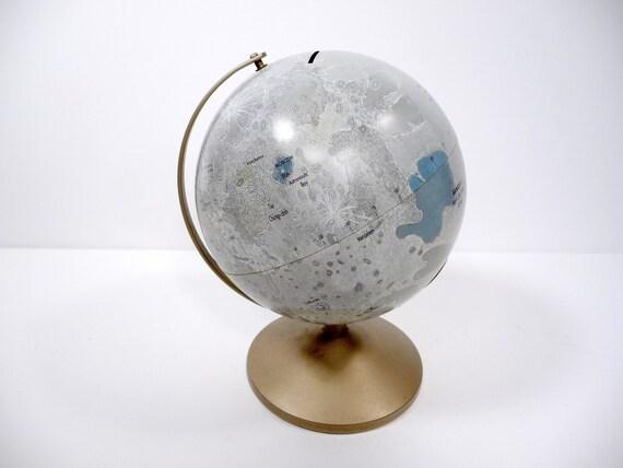 Vintage 1963 Moon Globe Bank