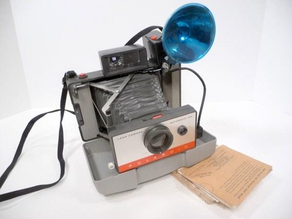 60s Land Camera Automatic 104 Polaroid and Case