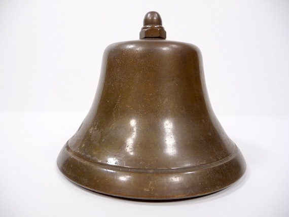 Antique Nautical Brass Bell