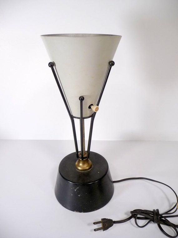 60s Atomic Age Desk Lamp