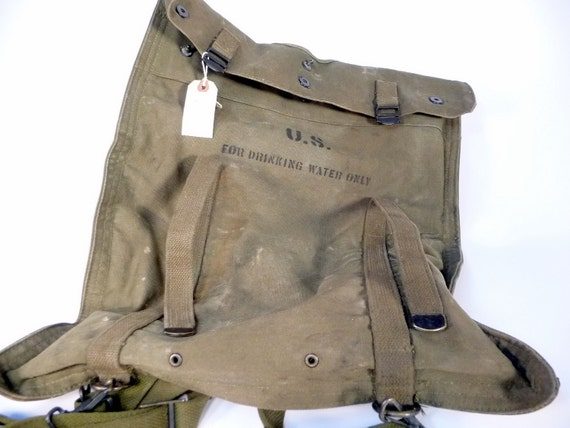 50s US Army Water Bag