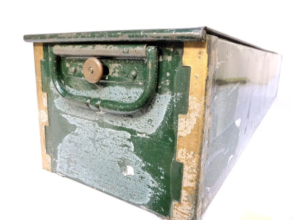 Antique Green Security Box