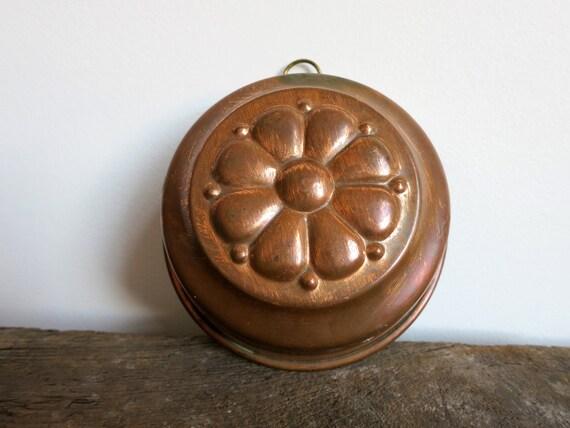 Vintage Copper Dessert Mold