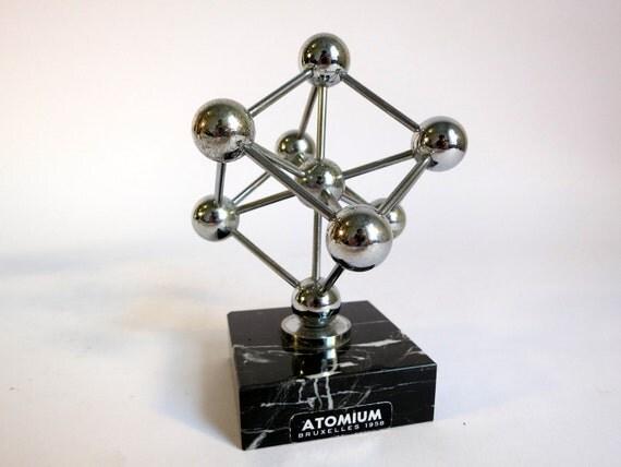 Vintage Worlds Fair Atomium Souvenir