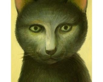 A4 Cat Print - Goro
