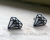 Kitsch Diamond Earrings