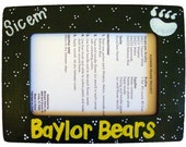 Baylor Bears Green Frame