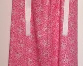 Pillowcase Dress - 30-Inch Two-Tone Pink With Butterflies and Sparkles - HANDMADE
