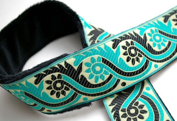 Camera Strap - Padded Camera Strap - DSLR Camera - Nikon Strap - Gifts for Photographer Birthday - Camera Neck Straps - Teal Eyes