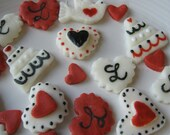 Handmade & Personalized Cream Cheese Mints - Weddings, Bridal Showers, Engagement Parties, Romance - 100 mints