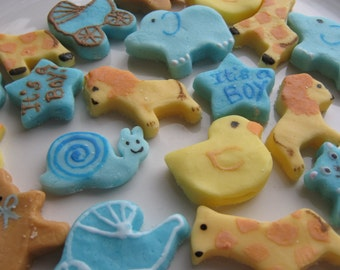 BABY BOY MINTS - Baby Shower - Special Occasions - Parties  - 6 Dozen Cream Cheese Mints