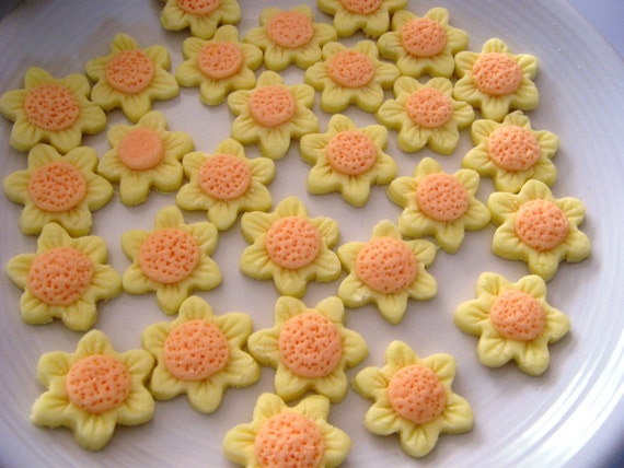 FLOWER  MINTS -  Special Occasions, Weddings, Parties  - 6 dozen