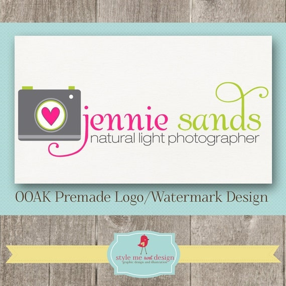 Cute Photography Logo Photography Logo Cute