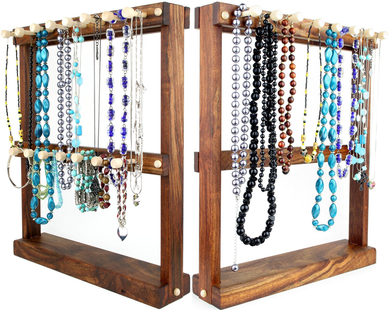 jewelry holder necklace holder rack sided bracelet