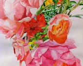 Art Print of Watercolor, Breath of Spring, Custom Order