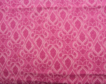 Pretty in Pink - Cotton Fabric - 1 yard