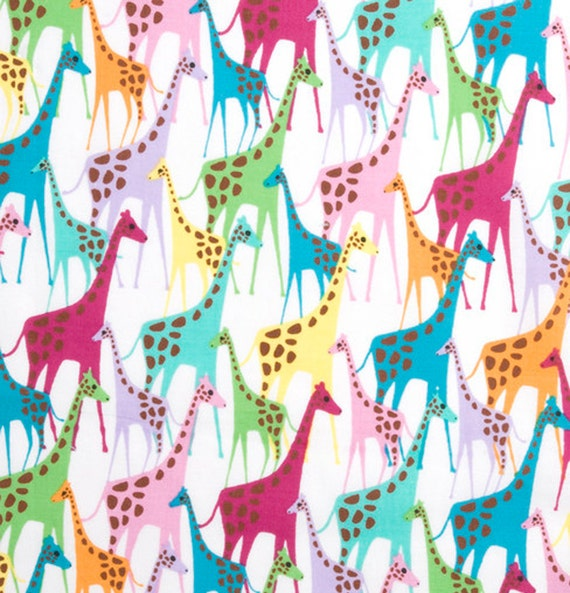 Sale - Giraffes - Fabric - FQ