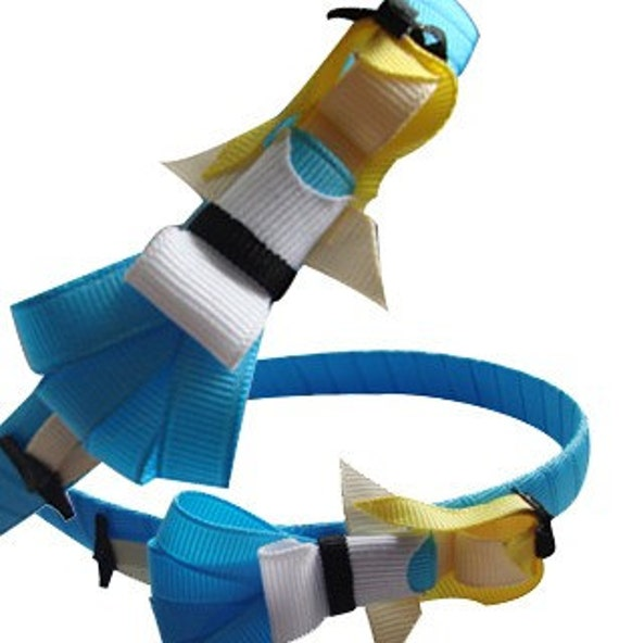 3 disney inspired princess clips or headband