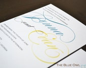 Modern Invitation - Jenna   -purchase this deposit to get started