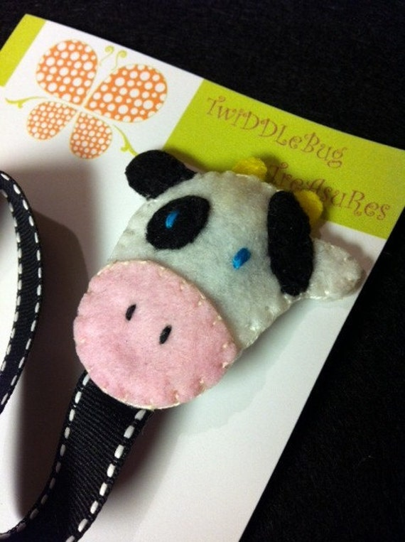 Moo Cow Pacifier Holder