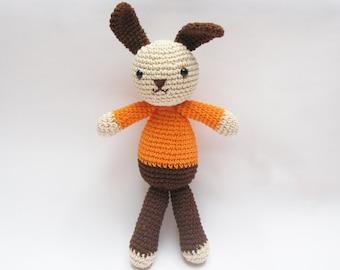 Amigurumi Bunny, Bunny Crochet Toy, Easter Toy, Easter Bunny Plush
