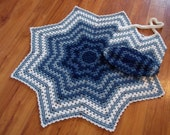 Granny Ripple Mommy & me Set Crochet Pattern Instant Download
