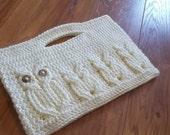 It's a Hoot Momma Owl Clutch Purse Crochet Pattern.  Instant Download