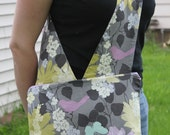 Sling Bag - Faded Flowers and Birds