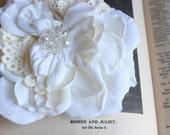 Crystal Wedding Hair Flower, wedding accessory, bridal headpiece - RITA -