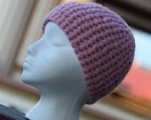 Adult Teen/Womens Pink Blossom Beanie