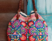 Luxury Tribal Ethnic Handmade Tote Bag L178-K2