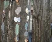Sea Glass, Ocean Tumbled Rock and Sea Shell Mobile