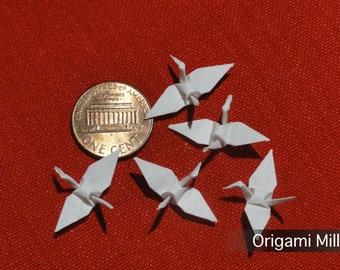 1 inch white cranes (25 pieces)