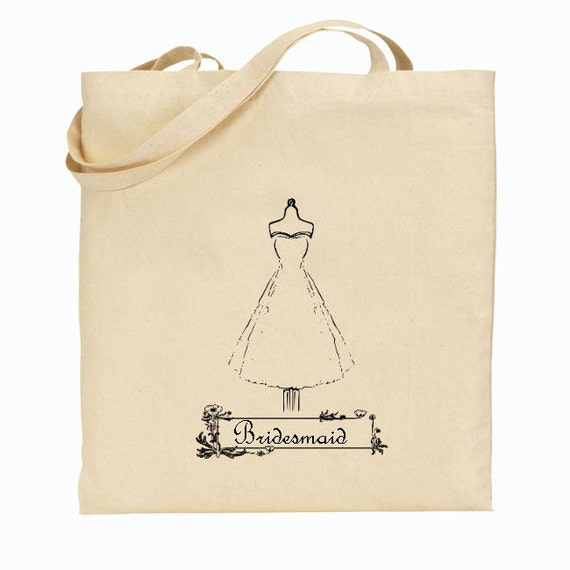 4 Bridesmaid Gift Bags - Welcome Bags for Wedding - Shower favor