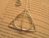 Deathly Hallows Inspired Necklace / Large Size / Harry Potter