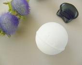 Violet and Bergamot Fizzy Bath Bomb--4 oz.