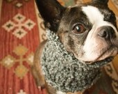 The Wood Smoke cowl for dogs size XS