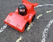 Fisher Price Race car and Driver