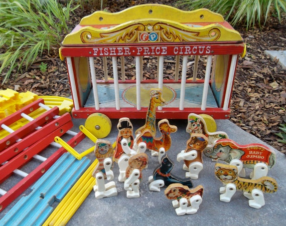 Fisher price Circus Wagon - RESERVED